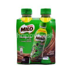 Milo Activ-Go Nutri Up Chocolate Malt Drink (4 Bottles)