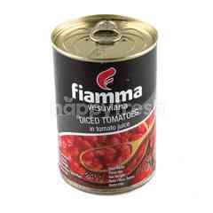 Fiamma Vesuviana  Diced Tomatoes In Tomato Juice