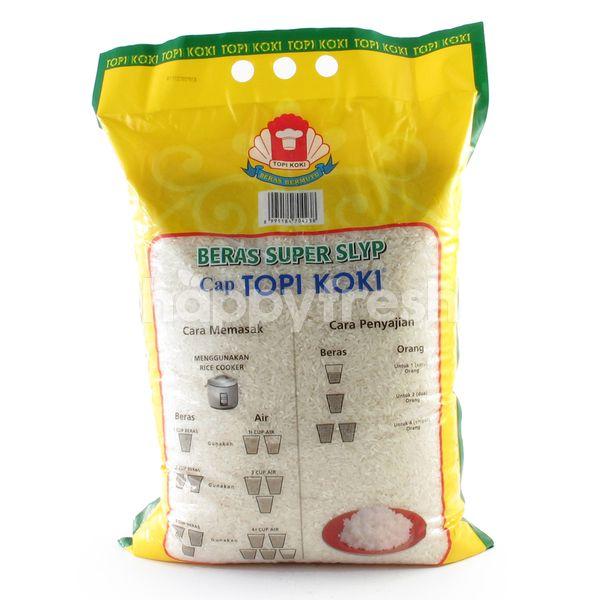 Topi Koki Super Slyp White Rice