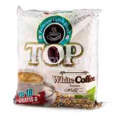 TOP Coffee Mild Taste Instant White Coffee (24 sachets)