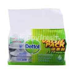 Dettol Anti-Bacterial Wet Wipes (3 Packs)