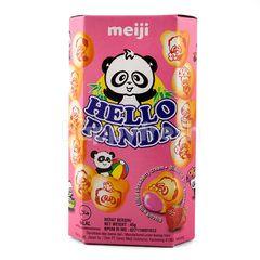 Meiji Strawberry Hello Panda Biscuits
