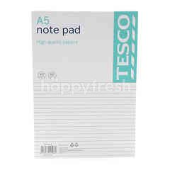 Tesco A5 Note Pad