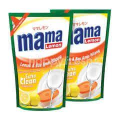 Mama Lemon Lemon Sabun Pencuci Piring Ekstra Bersih 425ml