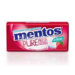 MENTOS Pure Fresh Strawberry Mint Flavour