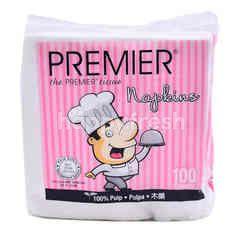 Premier Napkins Tissue (100 Sheets)