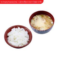 Miso Soup And Rice