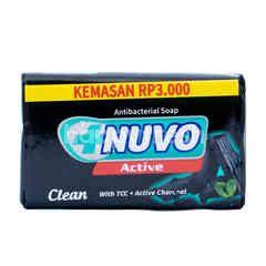 Nuvo Bar Soap Active Charcoal