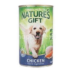 NATURE'S GIFT Just Natural Meal Time Chicken Rice & Vegetables