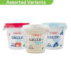 Yummy Greek Yogurt 100g (Choose any 3)