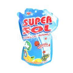 Super Sol Floor and Toilet Cleaner Lemon Mint