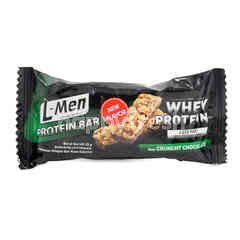 L-Men Whey Protein Bar Rasa Crunchy Coklat