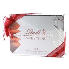 Lindt Cokelat Susu Tipis dan Lembut dari Swiss