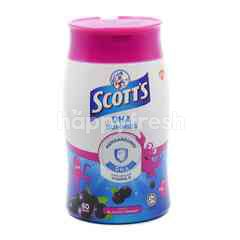 Scott's DHA Gummies Blackcurrant Flavour (60 Gummies)
