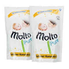 Molto Pure Concentrate Softener Twinpack