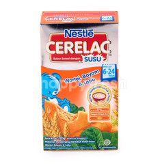 Cerelac Carrot Spinach & Pumpkin Milk Cereal 6-24 Months