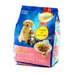 Smartheart Makanan Anak Anjing Rasa Daging dan Susu