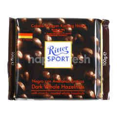 Ritter Sport Dark Chocolate Whole Hazelnuts