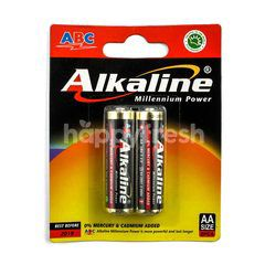 ABC Alkaline Battery Millenium Power 1.5V