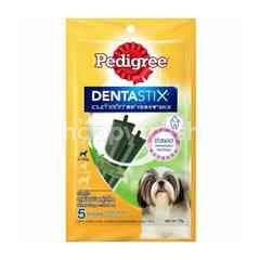 Pedigree Oral Care Treats Dentastix Small Green Tea 75g Dental Care Treats