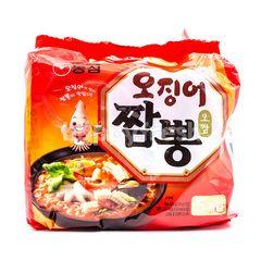 Nongshim Ramen Noodle Seafood Soup Squid Cuttlefish Stew