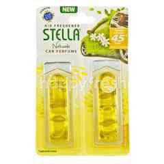 Stella Naturals Pengharum Mobil Isi Ulang Musk - Kuning