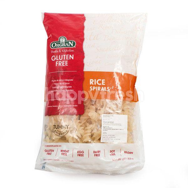 Orgran Rice Pasta Spirals