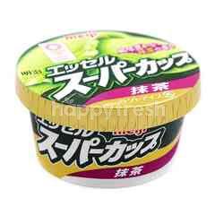 Meiji Esseru Super Cup Macha (Green Tea Cup Ice Cream)