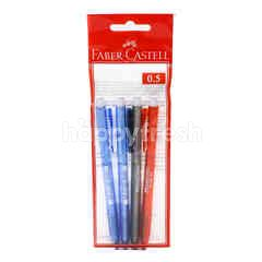 FABER CASTELL Click X5 Ball Pen (0.5mm)