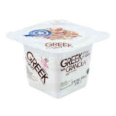 Heavenly Blush Yogurt Greek dengan Granola