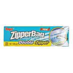 Bagus Zipperbag Double Zipper (18x20cm)