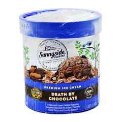 Sunnyside Farms Premium Ice Cream Death By Chocolate