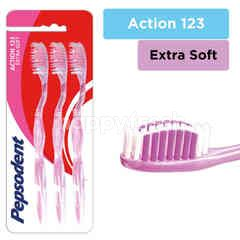 Pepsodent Action 123 Toothbrush