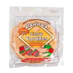 ดานิต้าส์ แผ่นแป้งข้าวโพดทอร์ทิล่าส์