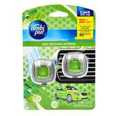 Ambi Pur Car Mini Clip Air Freshener - New Zealand Spring