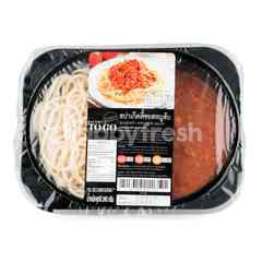 Gourmet To Go Spaghetti With Pork Sauce