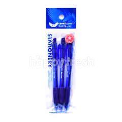 Unicorn Stationery Blue Ball Pen