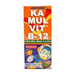 Kamulvit Suplemen Makanan  B-12 Rasa Jeruk