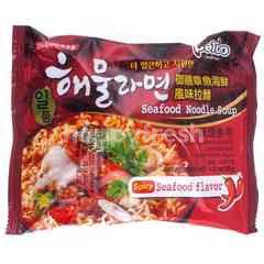 Paldo Spicy Seafood Soup Noodle