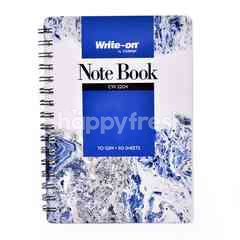 Campap Write-On Note Book (Blue)