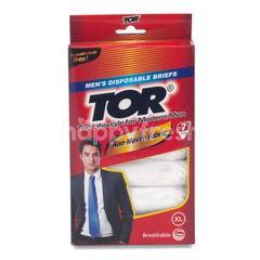 TOR Celana Dalam Pria Sekali Pakai Ukuran XL