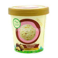New Zealand Natural Macadamia Supreme Premium Ice Cream