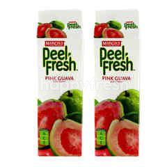 Marigold Peel Fresh Pink Guava Juice Drink Twinpack