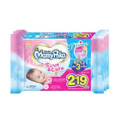 MamyPoko Baby Wipes Pure Water 99% 80 Sheets (3 Packs)