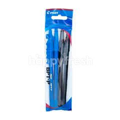 Pilot BPT-P Blue & Black Pen (4 pieces)