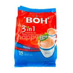 Boh 3 In 1 Instant Tea Mix Vanilla