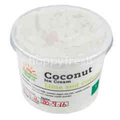 Sunshine Market Coconut Ice Cream Lime & Coconut