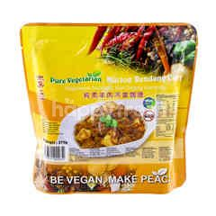 Pure Vegetarian Mutton Rendang Curry