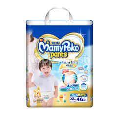 Mamy Poko Pants Extra Dry Skin Boys XL 46 Pcs.