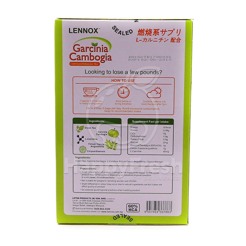 Garcinia Cambogia Chrysanthemum Tea 14 Tea Bags Happyfresh